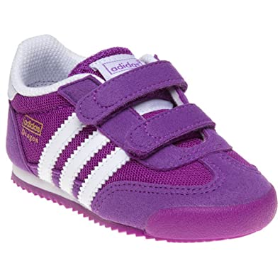 adidas dragon trainers purple