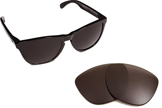 ef7c6621cdb Moonlighter Replacement Lenses Polarized Black by SEEK fits OAKLEY  Sunglasses