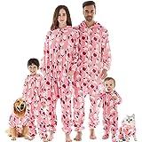 Conjunto de pijama a juego para familia, de Navidad, de franela, pijama de Navidad, ropa de dormir para mujeres, hombres…