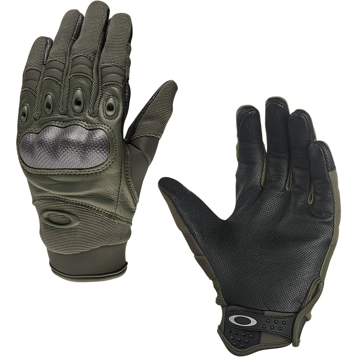Oakley Mens Factory Pilot Glove, Foliage Green, X-Small
