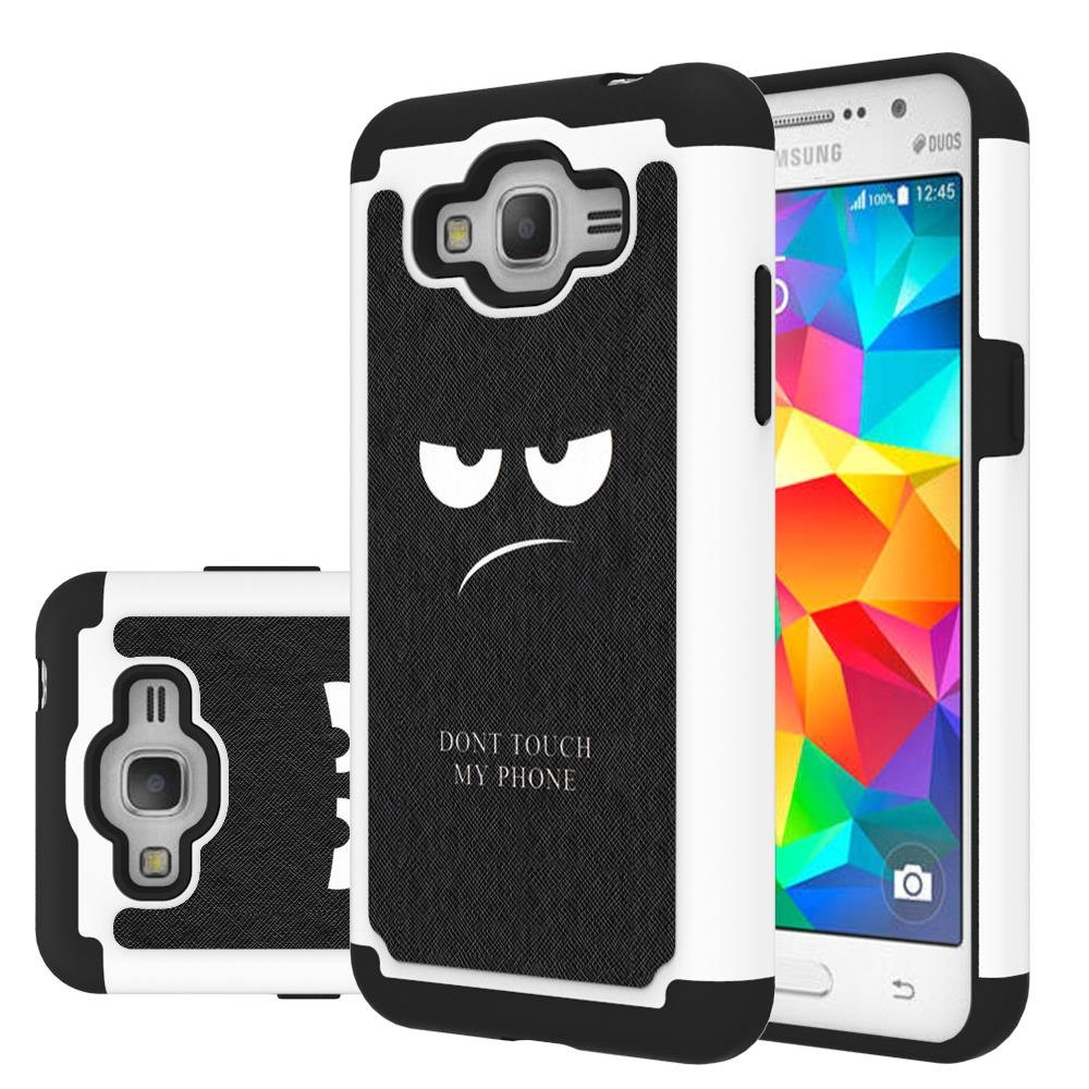Grand Prime Plus Case Galaxy J2 Leegu Dual Samsung G532 8gb Layer Heavy Duty Protective Silicone Plastic Cover For