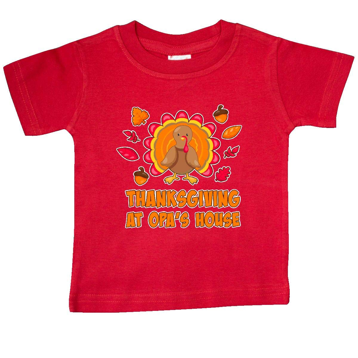 inktastic Thanskgiving at Opas House Baby T-Shirt