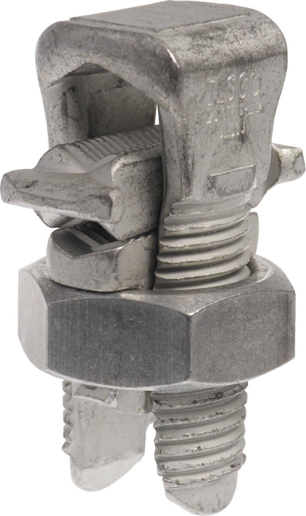 The Hillman Group 50331  Number 2 Strand Aluminum Split Bolt, 2-Pack