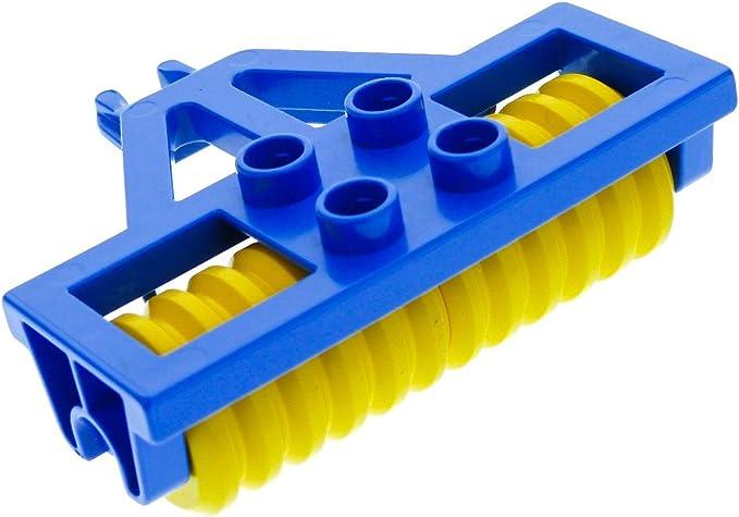 1x Lego Duplo Anhänger Fahrgestell weiss für Bauernhof Feuerwehr 6168 47450c01