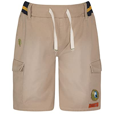 The Essential One - Little Boys' Canvas Shorts Beige