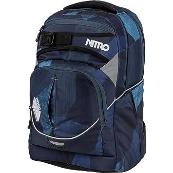 Nitro Snowboards Superhero, Mochila Tipo Casual 30 litros, 44 cm, Fragments Blue: Amazon.es: Deportes y aire libre