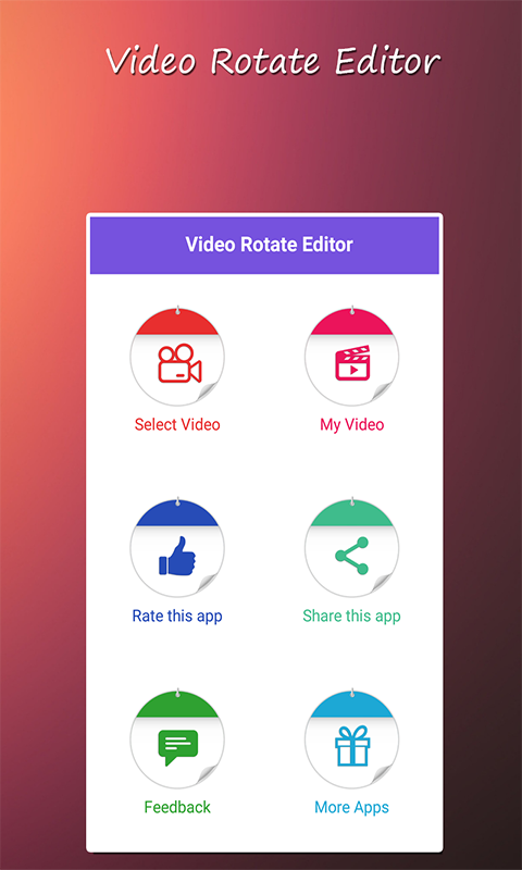 Amazon Com Video Rotate Editor Appstore For Android