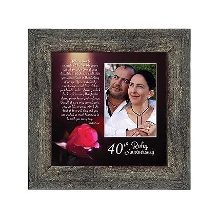Amazon Ruby Anniversary Personalized Ruby Wedding Anniversary