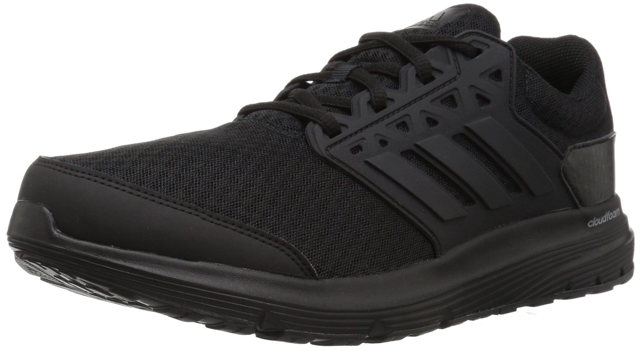adidas Men's Galaxy 3 m Running Shoe, Black/Black/Black, 10.5 Medium US