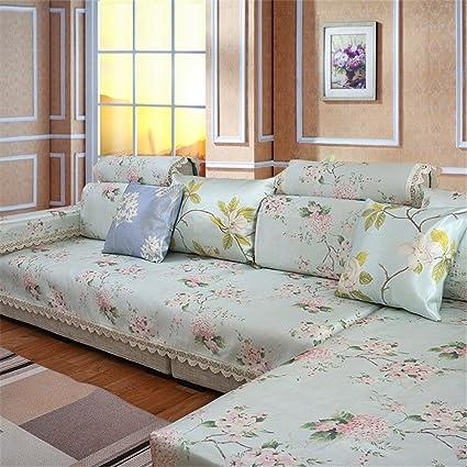 Amazon.com: Cushion Couch Sofa Cushion Summer Ice Silk ...