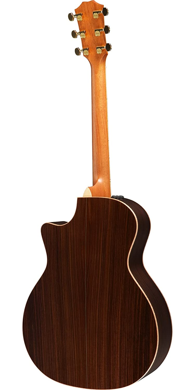 Amazon.com: Taylor Guitars 814ce Grand Auditorium Acoustic Electric Guitar, Tobacco Sunburst: Musical Instruments