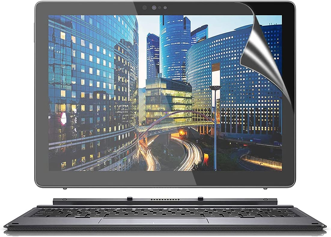 3P Anti-Glare Matte Screen Protector for New Dell Latitude 7000 7200 7210 2-in-1 12.3 Tablet Screen Protector, Latitude 7200 7210 Accessories Anti Glare Screen Protector Shield Guard, Anti Fingerprint