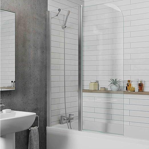 Luxura Twyford - Mampara de Ducha para baño (2 Secciones, 1000 mm ...