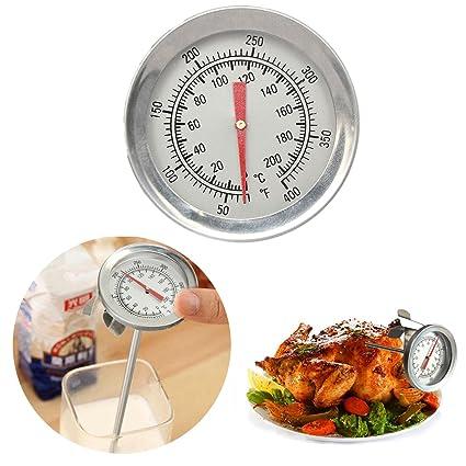 teekini termómetro de sonda para barbacoa de acero inoxidable barbacoa Alimentos Carne Termómetro de cocina