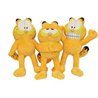 Multipet Garfield Squeak Toy Dogs Size:Pack of 2
