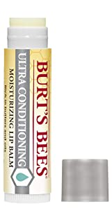 Burt's Bees 100% Natural Moisturizing Lip Balm, Ultra Conditioning with Kokum Butter, Shea Butter & Cocoa Butter - 1 Tube