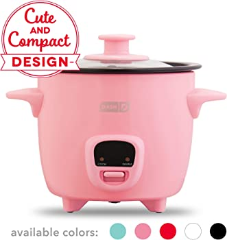 Dash Mini Rice Cooker With Removable Nonstick Pot