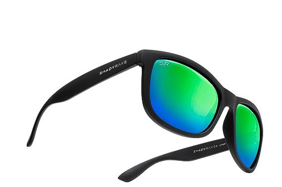 1f03bc3344183 Amazon.com  Shady Rays Signature Series Polarized Sunglasses Black ...