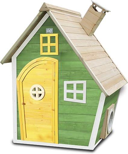 EXIT Fantasia 100 Wooden Playhouse - Green - Casas de Juguete ...