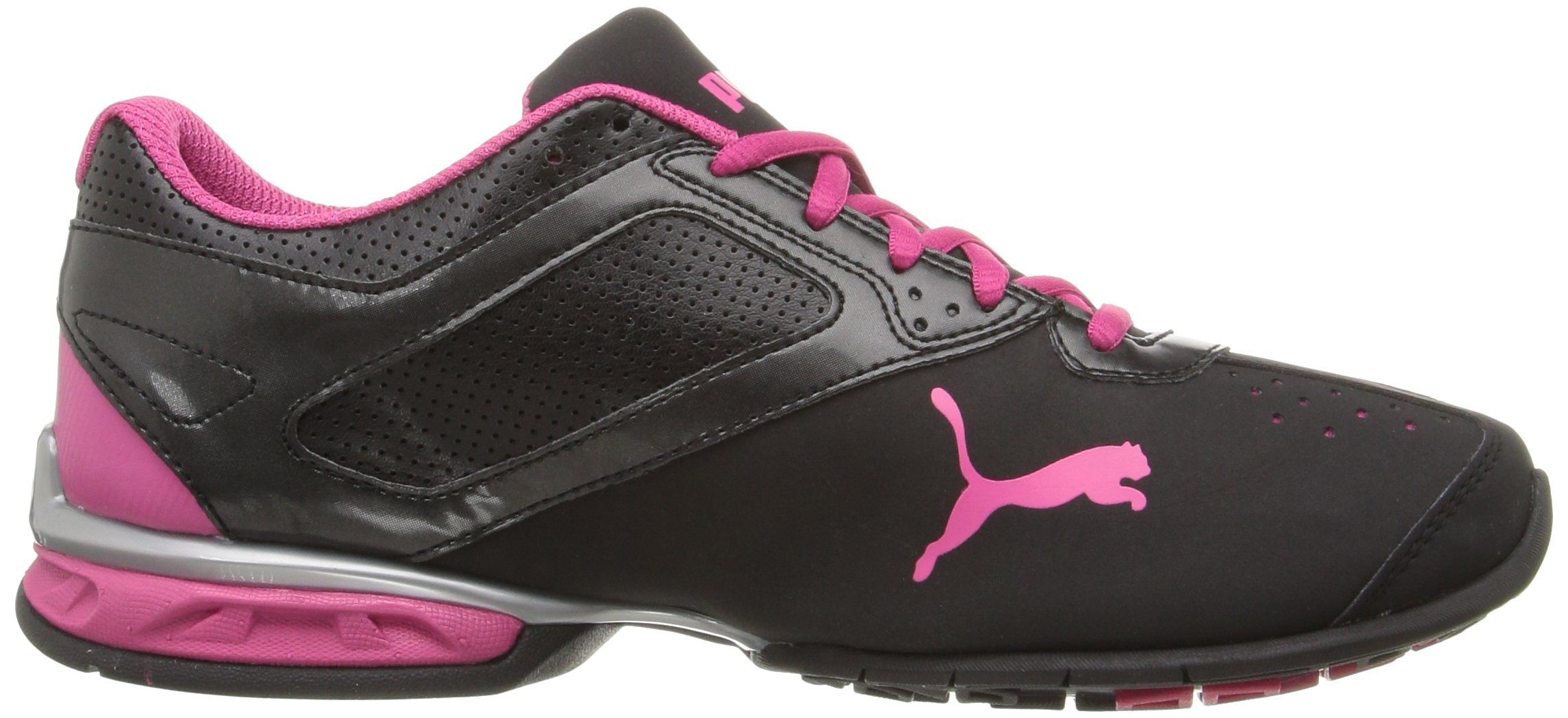 PUMA Women's Tazon 6 WN's fm Cross-Trainer Shoe Black Silver/Beetroot Purple, 7 M US by PUMA (Image #7)