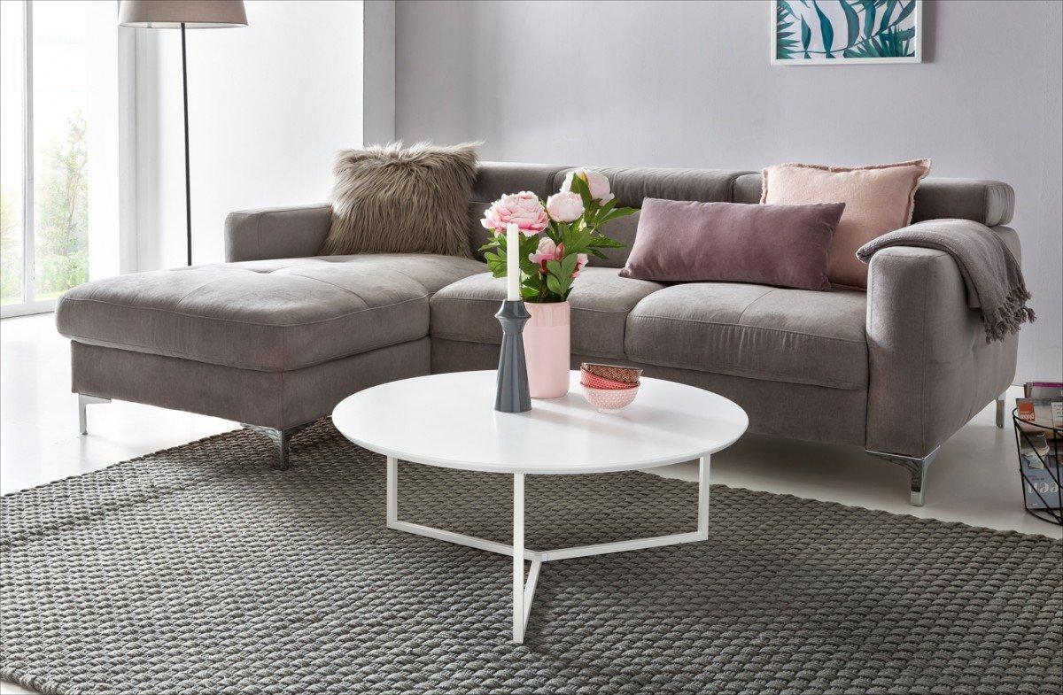 Salotto Moderno Bianco : Wohnling design tavolino da salotto in legno mdf bianco opaco