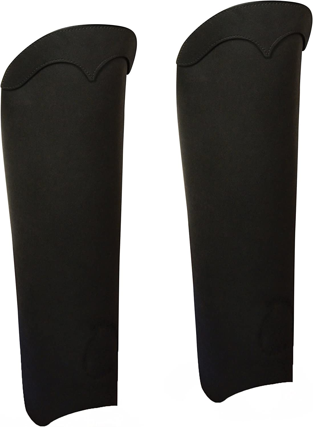 Milwaukee Leather Mens Half Chaps With Back Zipper Retro Brown, Large
