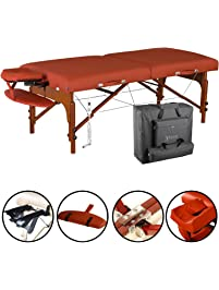 """Master Massage 31"""" Santana Therma Top Portable Massage Table Package (Built in Heating Pads)"""