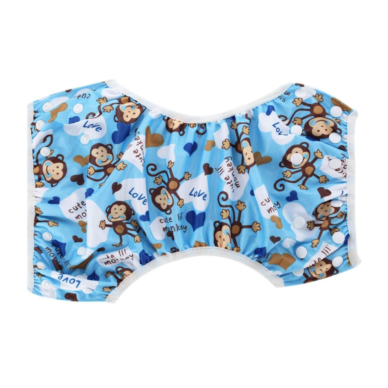 Fannty Wiederverwendbare Baby-Schwimmwindeln Waschbare Abdeckung f/ür Schwimmer