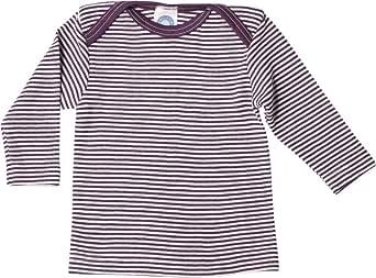 Cosilana - Camiseta interior de manga larga para bebé (70% lana, 30% seda)