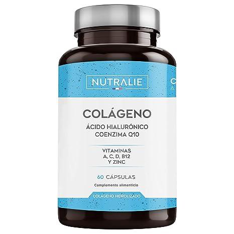 Colágeno + Ácido Hialurónico + Coenzima Q10 + Vitaminas A, C, D y ...