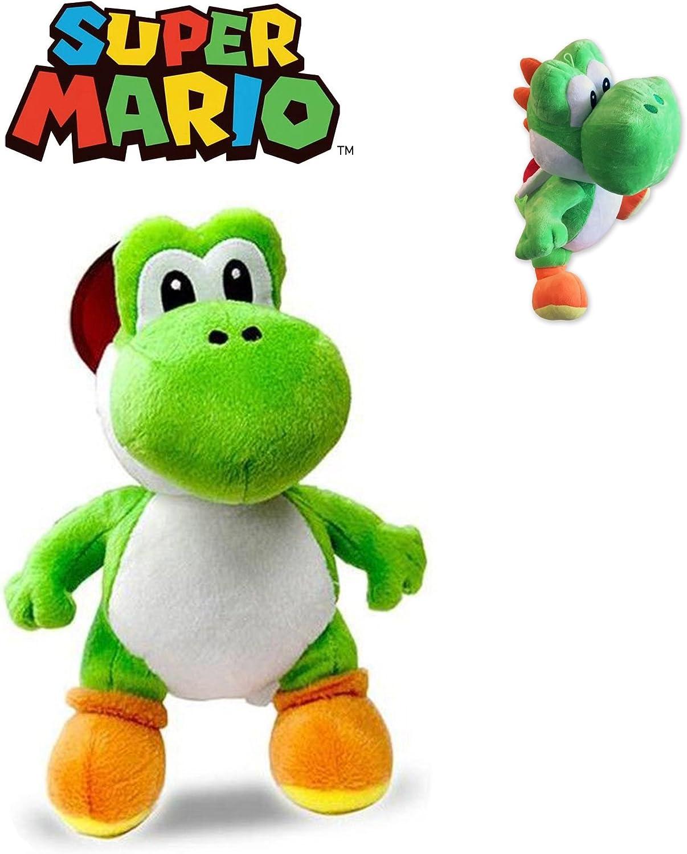 Super Mario Bros - Peluche Yoshi 30 Cm Calidad Super soft de Super ...