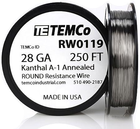 1-100 metros kanthaldraht 1.4765 alambre de calefacción 0.05-2.5mm Kanthal d resistencia alambre