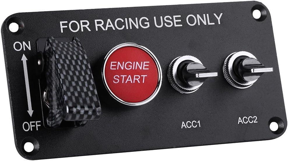 Pannello di avviamento del motore Racing Panel per il controllo dellaccensione dellauto