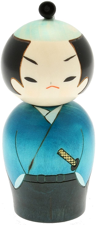 Dragon Ball Kokeshi Krillin by Usaburo Kokeshi limbless wooden doll Japan