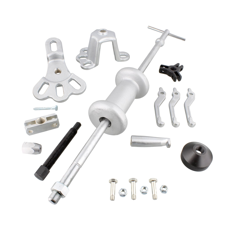 ABN Slide Hammer Puller Set Wheel Bearing Removal Tool w/Slide Hammer Attachments – Wheel Hub Puller Dent Repair Kit by ABN (Image #2)