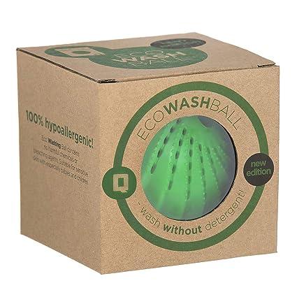 Bola Qualtex Eco Magic para lavadora. Lava y suaviza las prendas. Bola para la colada – 1000 lavados.: Amazon.es: Grandes electrodomésticos
