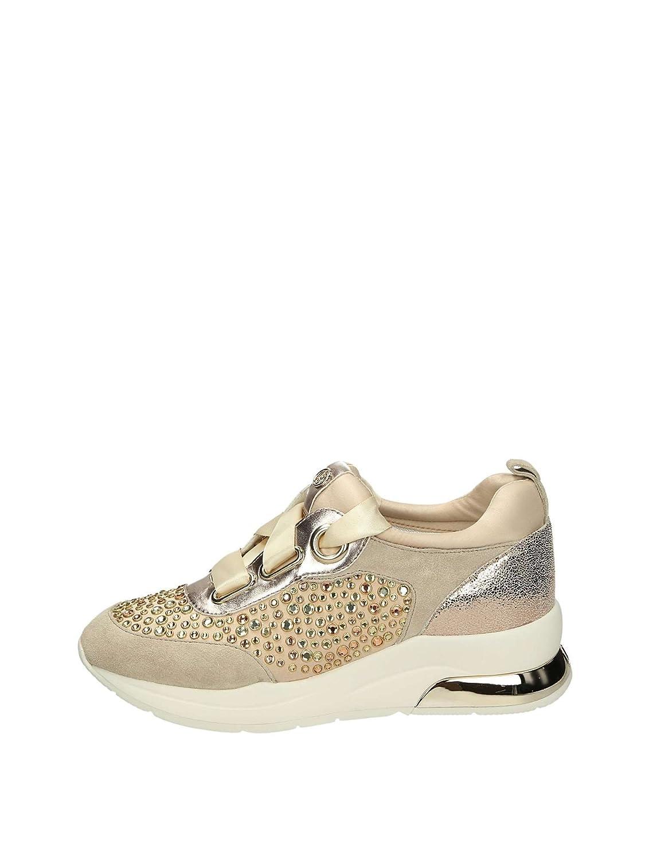LIU JO shoes Sneaker con Paillettes 36 EU Rose