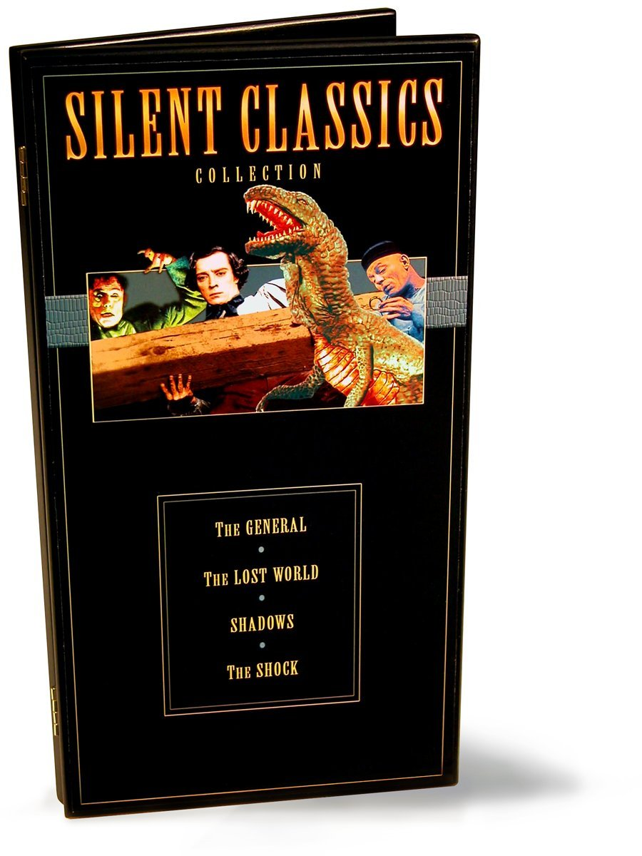 Silent Classics Collection 4 Movie Pack