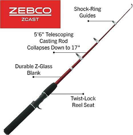 ZEBCO Z-Cast SR 340 by TACKLE-DEALS !!!