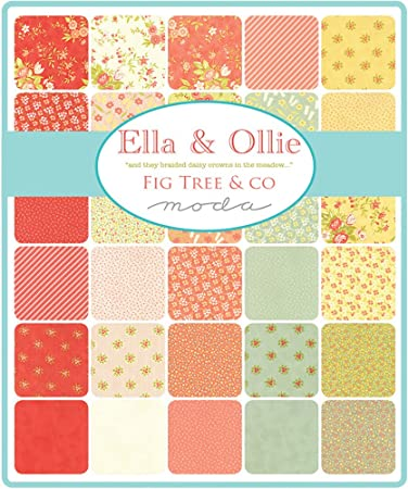 Ella & Ollie Mini Charm Pack por Joanna Figueroa; 42 – 2,5