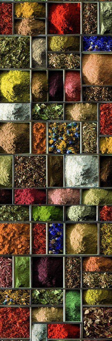 PLAGE 162260–Adesivo per cucine e frigorifero spezie–Vinile 180x 0.1x 59, 5cm PLAGE SA