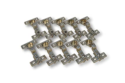 10x Stück FERRARI Topfband Mittelanschlag 26mm Scharnier Topfscharniere Federscharnier