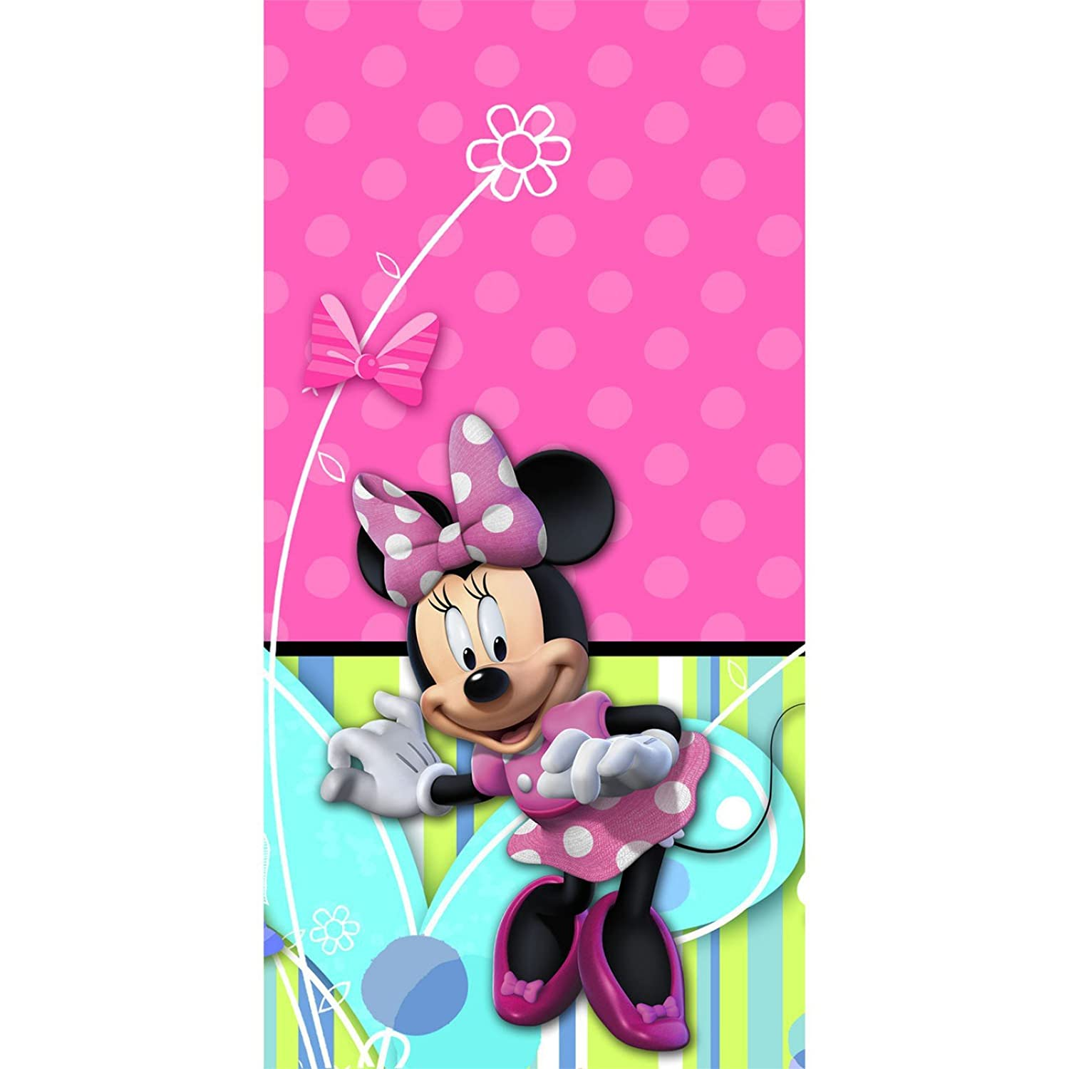 Amazon Minnie Mouse Bow Tique Plastic Tablecover 1ct Toys Games