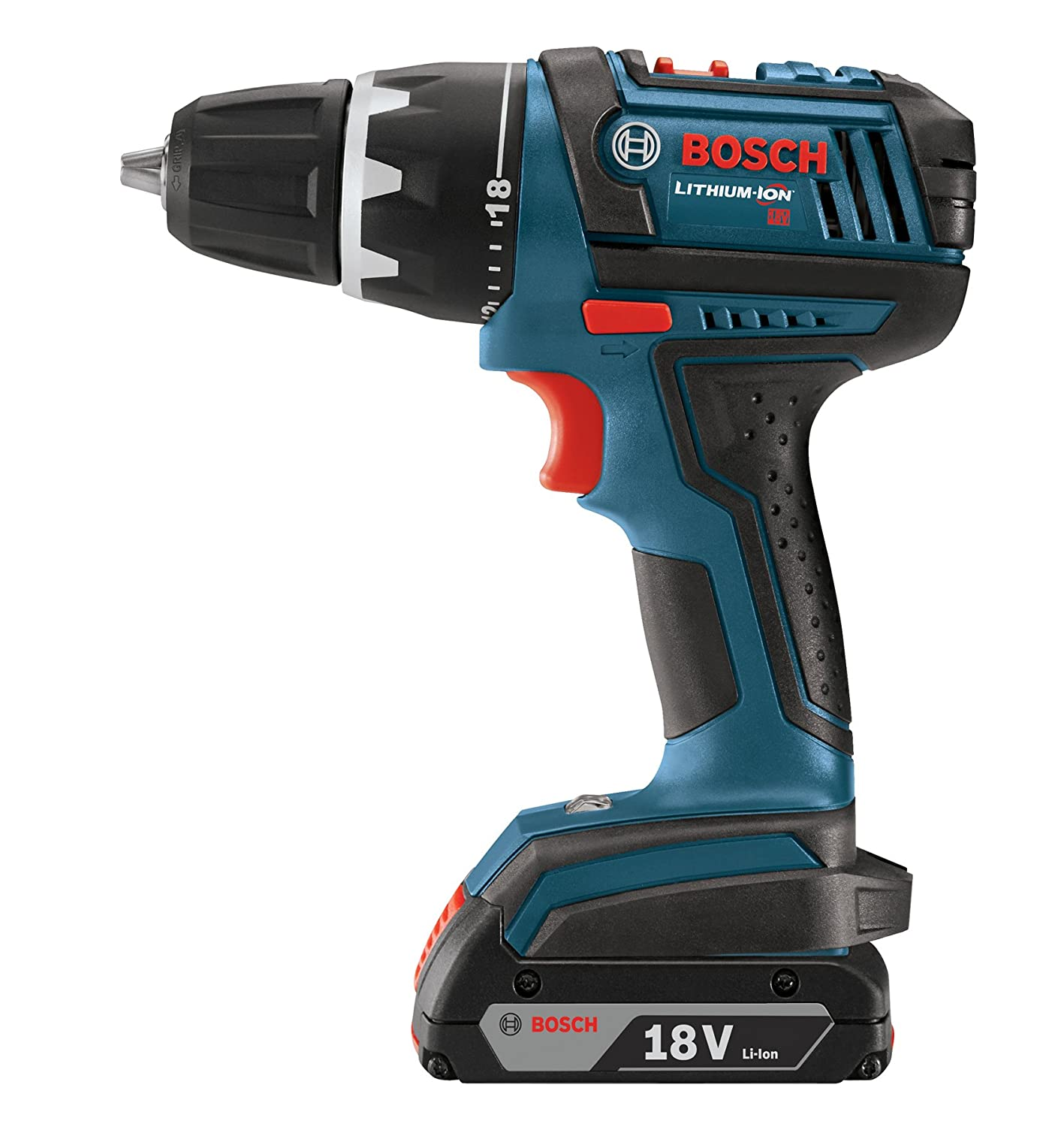 Bosch DDB181-02 18-Volt Lithium-Ion 1.2-Inch Compact Tough Drill