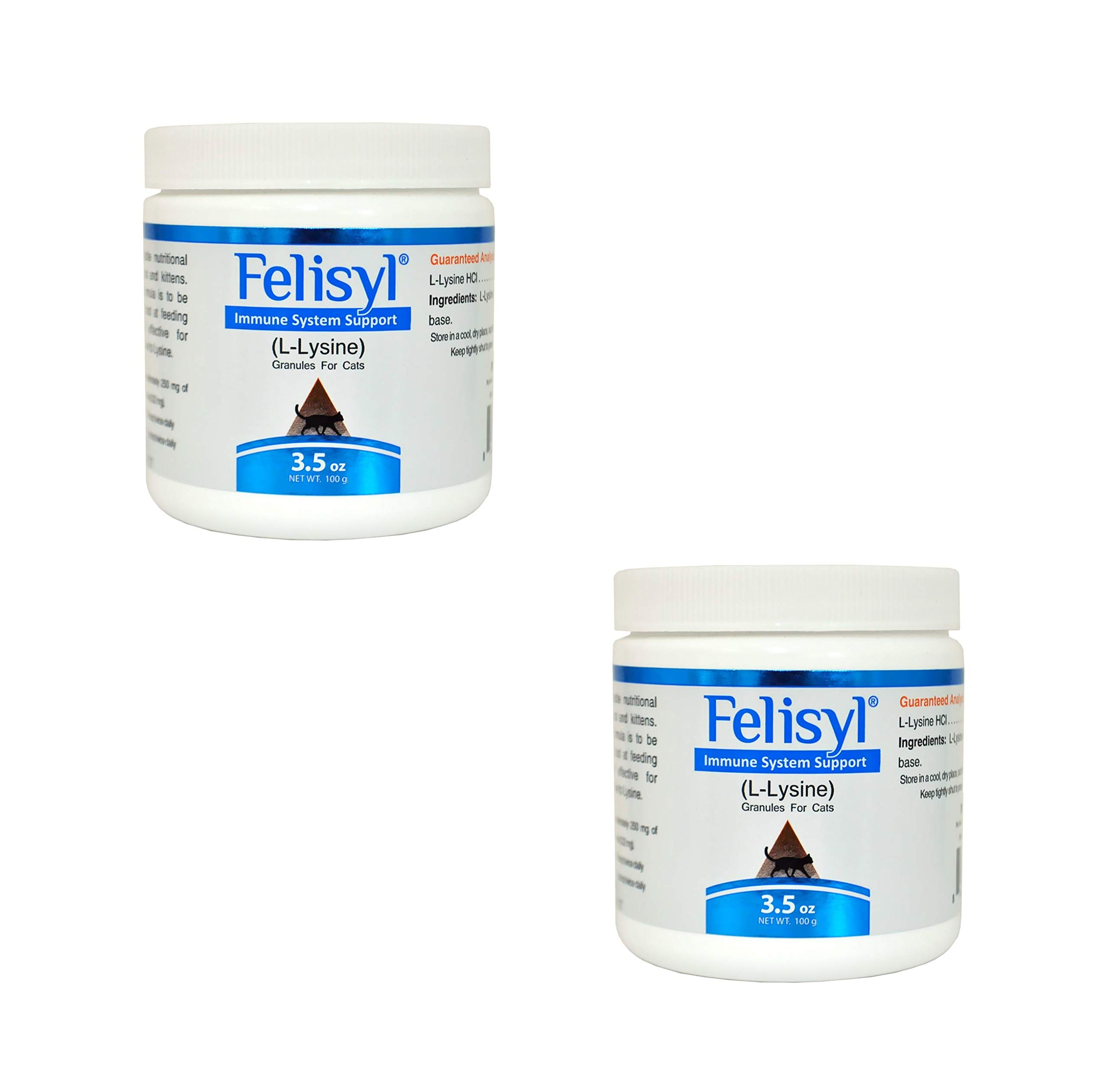 Felisyl Immune System Support Granules - Support Healthy Tissues, Respiratory and Vision for Cats - 3.5 oz (2 Pack)