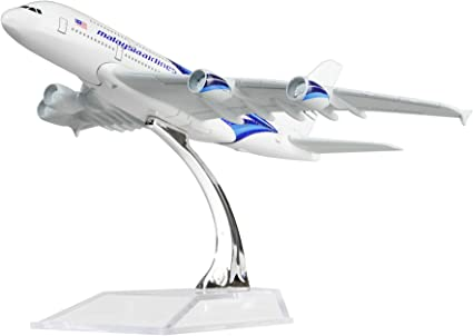 16cm Metal Plane Model Aircraft Diecast Aeroplane 1:400 Scale Desk Toy Gift US