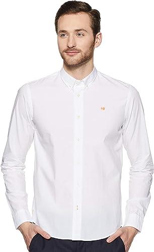 Scotch & Soda Regular Fit - Classic Crispy Shirt Camisa para Hombre: Amazon.es: Ropa y accesorios
