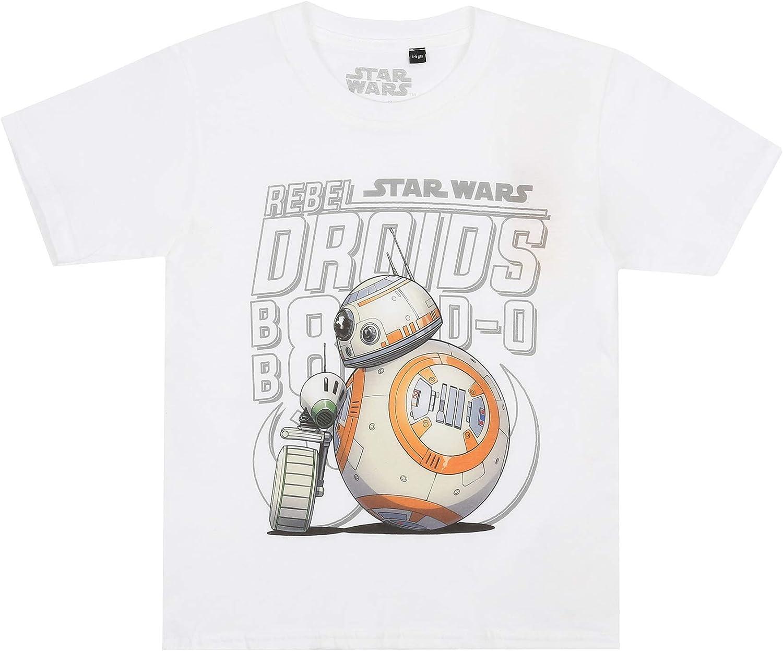 Star Wars Rebel Droids Camiseta para Ni/ños