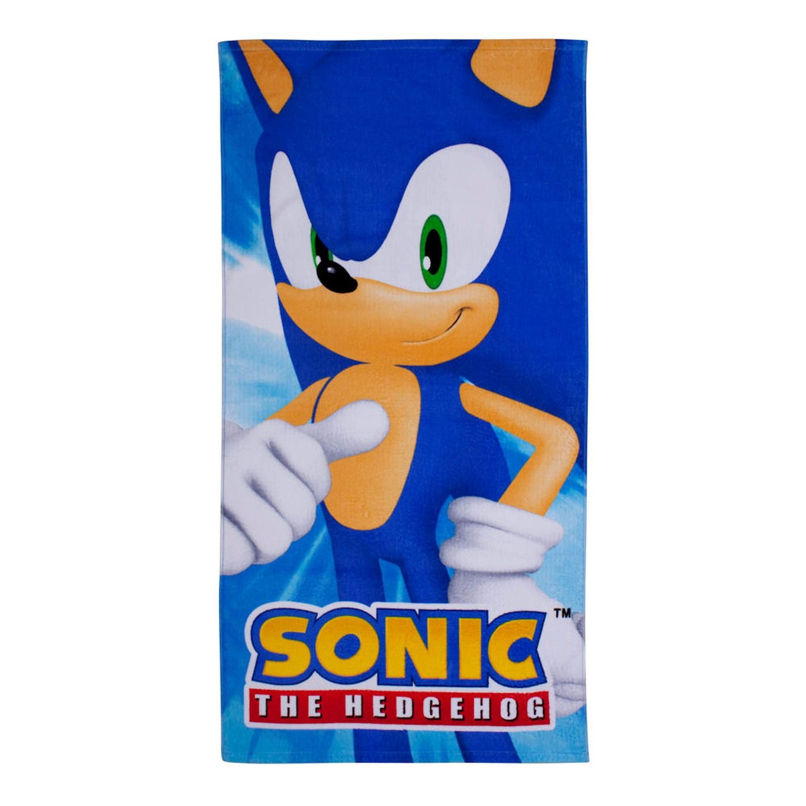 Sonic The Hedgehog Spin Beach Towel Printed 100 Cotton Buy Online In Cayman Islands Character World Products In Cayman Islands See Prices Reviews And Free Delivery Over Ci 60 Desertcart