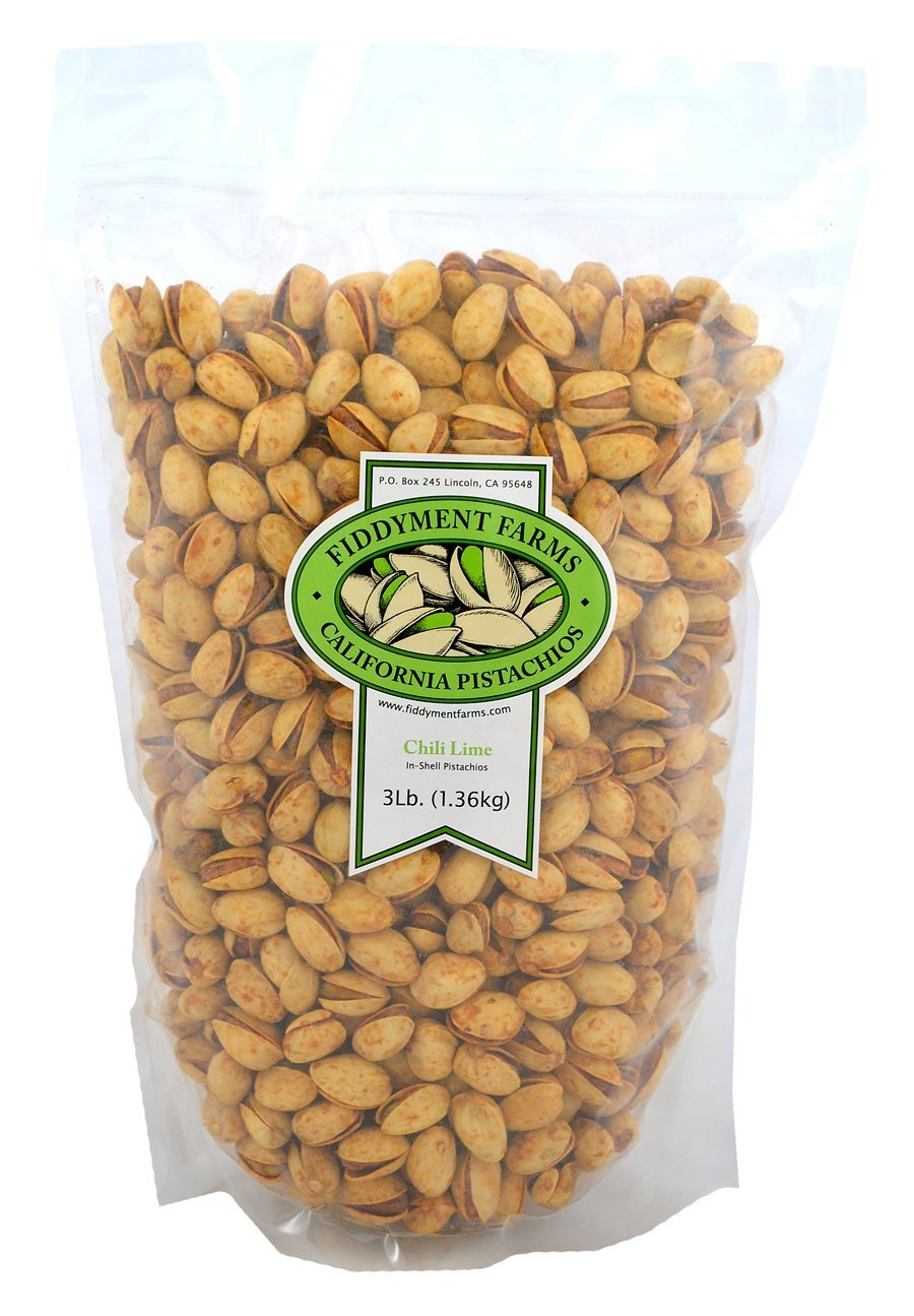 Fiddyment Farms 3lb Chili Lime In-shell Pistachios